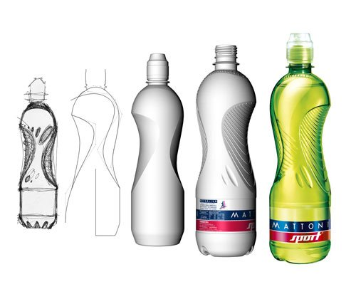 Jan Čapek, Bottle Design for Mattoni, 2006